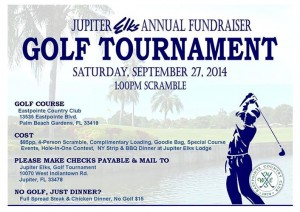 Jupiter Elks Golf Tournament