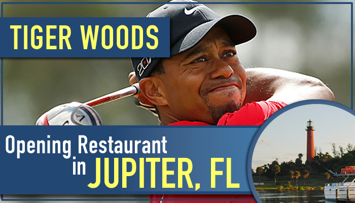 TIGER WOODS JUPITER FL